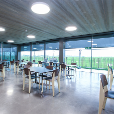Hunter Douglas bespoke solution for Goodwood Aerodrome