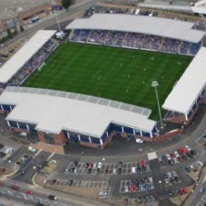 Hauraton drainage at Chesterfield FC