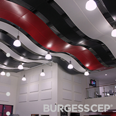 BurgessCEP wall panel solutions at college refurb