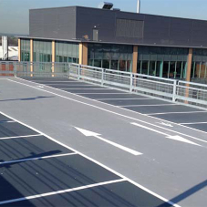 Tremco waterproofing system for car park