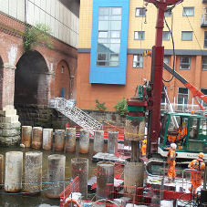 Sika admixtures key to foundations of station entrance