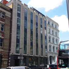 Comar curtain walling for Southwark Street offices