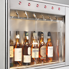 Self service whiskey dispenser from Wine Corner