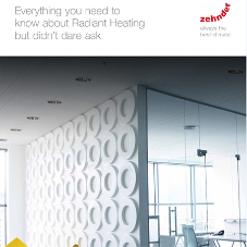 Zehnder dispels myths about radiant heating with Ebook