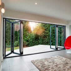 New aluminium bi-folding doors from Liniar