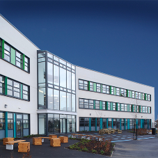 Striking colours for Telford's schools of the future
