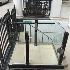 Platform lift for central London Embassy