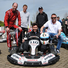 Design & Display Structures enjoy success at kart race