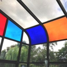 UK Window Films adds colour to conservatory