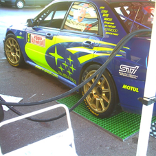 FibreGlass Grating used for Monte Carlo Rally