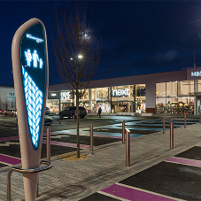 Street furniture for Wheatley Retail Park