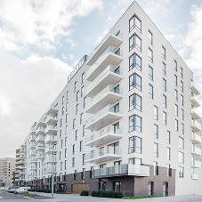 Greenwich turns greener with Aliva's insulated render