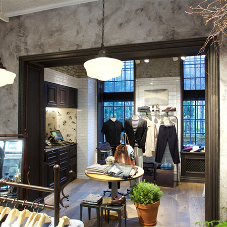 Stunning interiors for high-end fashion stores