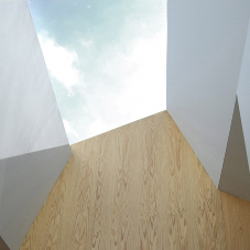 Rooflights at RIBA award-winning private property
