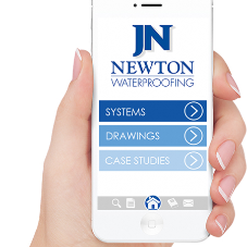 Download the Newton Waterproofing App
