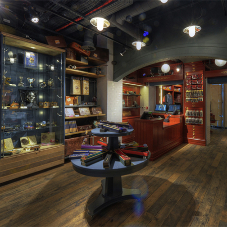 Pine floorboards are magic for Harry Potter store