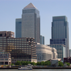 Alumasc' Derbigum and Hydrotech systems at Canary Wharf