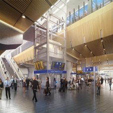 KONE improves people flow at London Bridge station