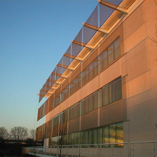 Architectural mesh for Oxford Science Park