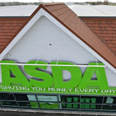 New Roofing System for Asda in Worthing