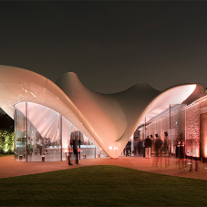 Organic GRP cladding for Serpentine Sackler Gallery