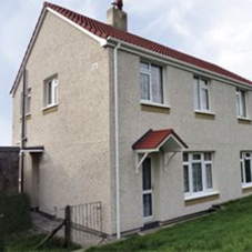 External Wall Insulation in Social Housing refurb