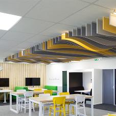 Effective acoustics complement learning environments