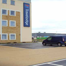 RECYFIX® MONOTEC at the new-built Travelodge