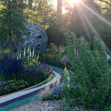 RonaDeck surfacing at award-winning gardens