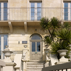 Timber windows & doors for Villa Amanti