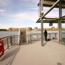 Canary Wharf pontoon strengthened with Ronafix