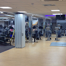 Healthy division of space at Sports Direct Fitness