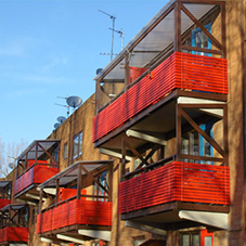 Refurbishment of roofs and canopies at iconic Byker Wall