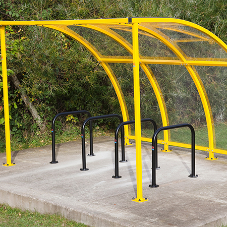 Cycle Sheds from Procter Contracts