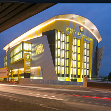 Stunning Aluminium facade for Big Yellow HQ