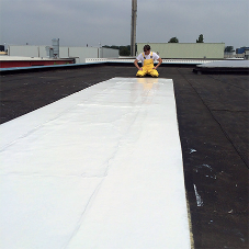 Bitumen membrane refurbishment and protection