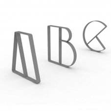 Letterform Cycle Stands