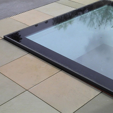 Polyroof's flush fitted skylight made waterproof