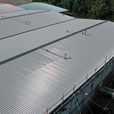 Filon Over-Roofing at Coleg Cambria