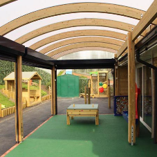 Custom Canopy for Girlington Primary School