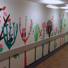 Wall murals for St Georges Hospital