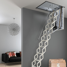 New Escalmatic loft ladders: style, safety & convenience