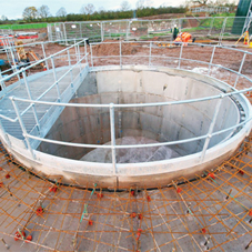 FP McCann's smoothbore shaft segments form pumping house