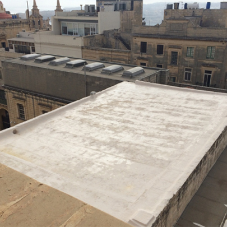 Roof Waterproofing at St John's Co-Cathedral, Malta