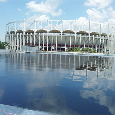 Waterproofing systems for National Arena Stadium