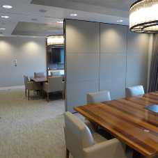 Style creates space for executive dining