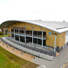 Elite roofing system for Worcester Sports Arena
