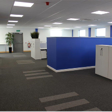 LED lighting for office headquarters