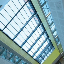 Passivhaus Glass Roofs for University of Leicester