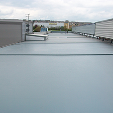Why choose Topseal for a commercial flat roof?